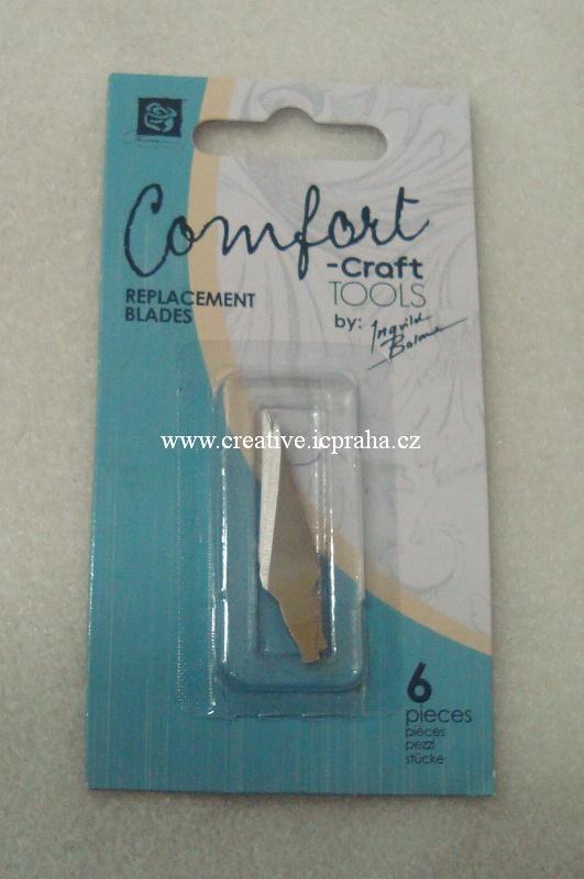 skalpel Comfort - náhradní nože 6ks