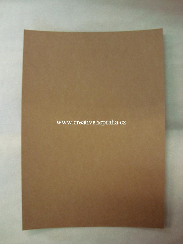 papír A4 160g/m2 - hnědý