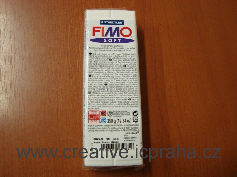 FIMO SOFT 350 bílá  8022-0