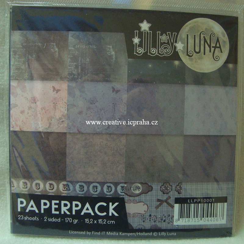 Find It - Lilly Luna 15x15cm170g/m2 23ks