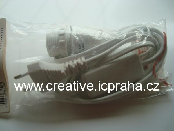 elektrická objímka na lampičku 2m  2301500