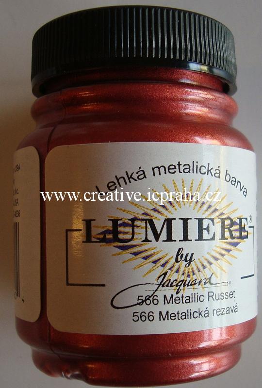 Lumiere 67ml - rezavá  metalická 566