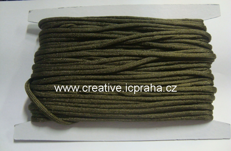 paracord 4mm olive green