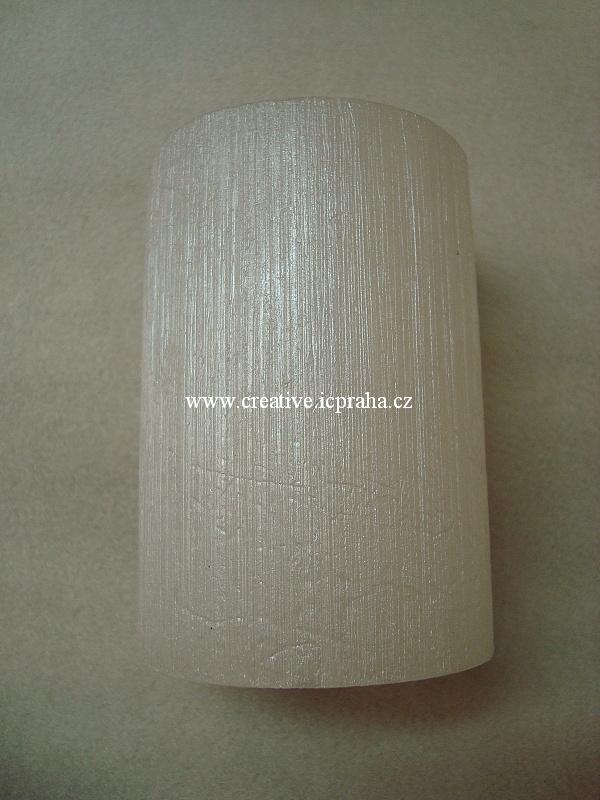 svíčka JIN 70x100 lak bílá