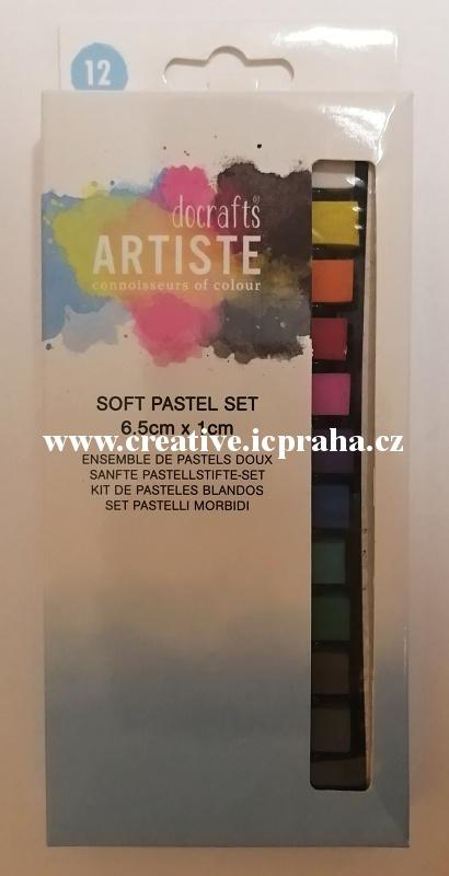 pastely měkké 12ks - Artiste Docrafts