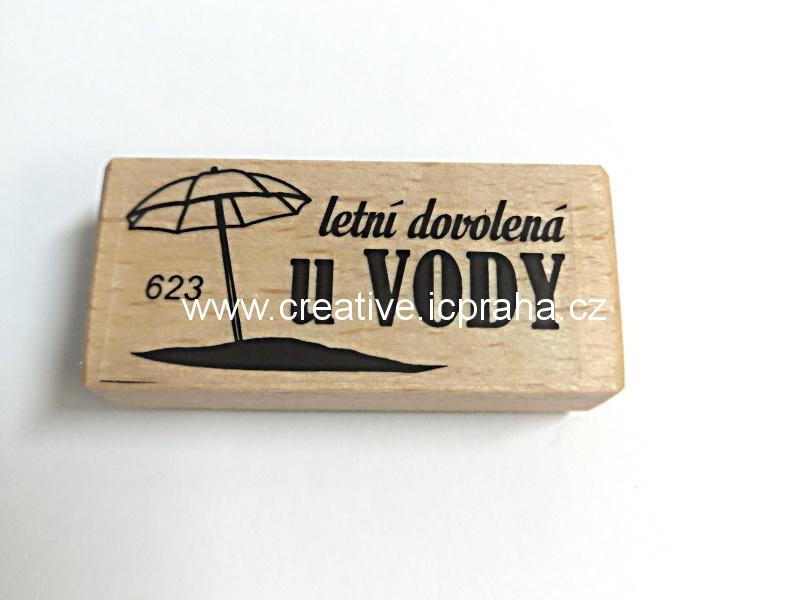 dřevěné razítko