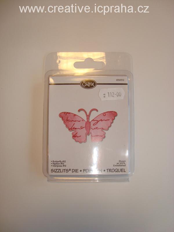 vyřezávací šablona  Sizzlits motýlek 656512