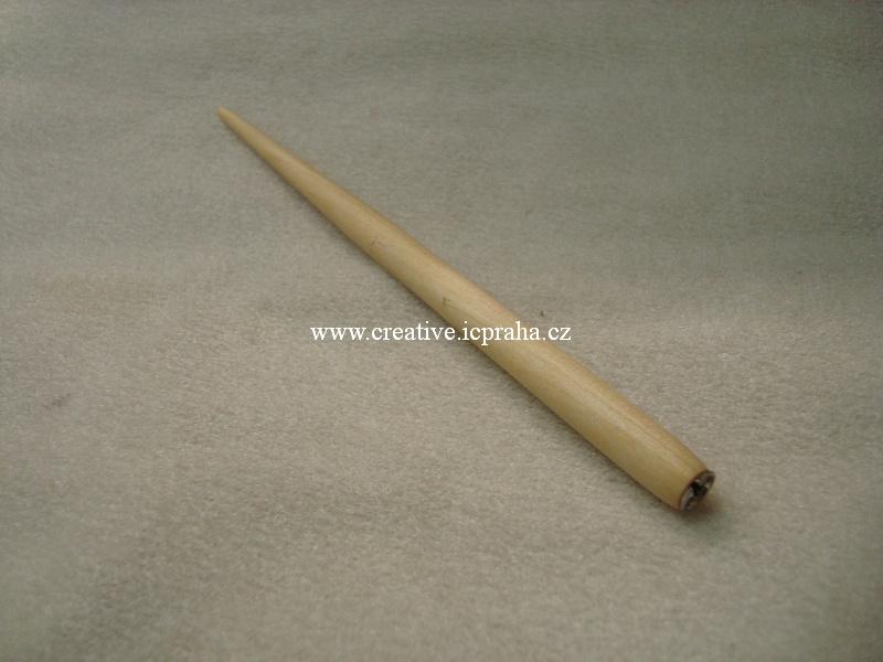 násadka dřev. přírodní /180mm 122200