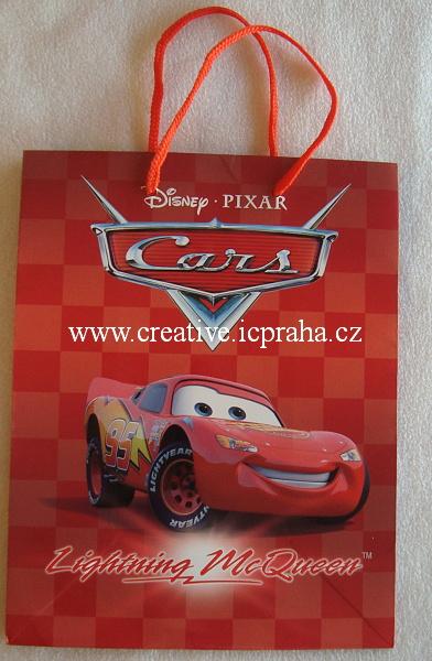 dárková taška Cars - 23x18cm