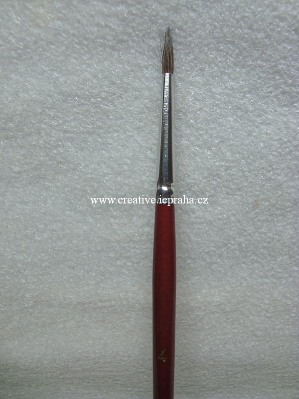 štětec veverka kulatý č.4 992/4