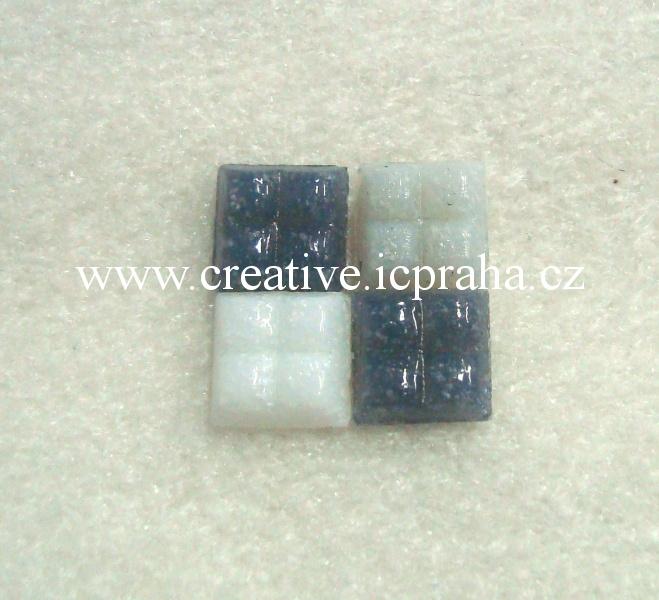 Mozaika kameninová 200g šedá mix