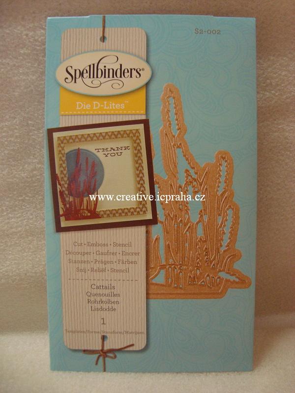 vyřezávací šablona  Spellbinders - Klasy