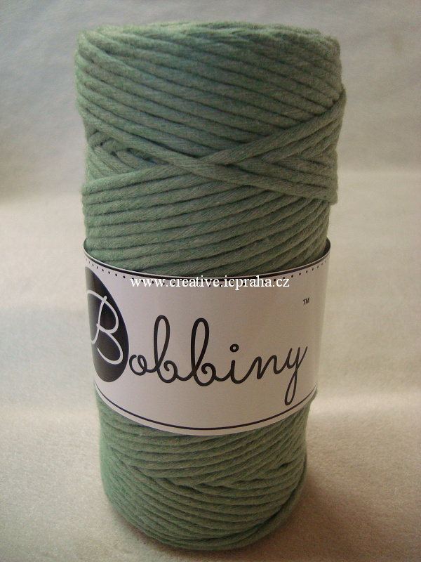 BobbinyMacrame Regular100m/3mm - Eucalyptus