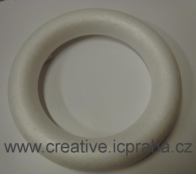 věnec polystyren - 27cm