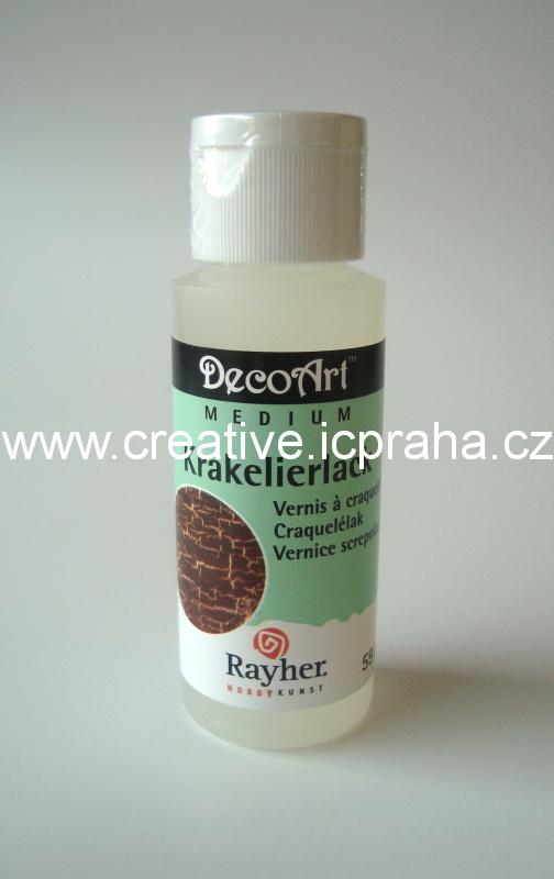 DecoArt - krakelovací lak 59ml Ry38010