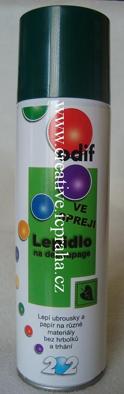 lepidlo ve spreji na decoupage 250 ml