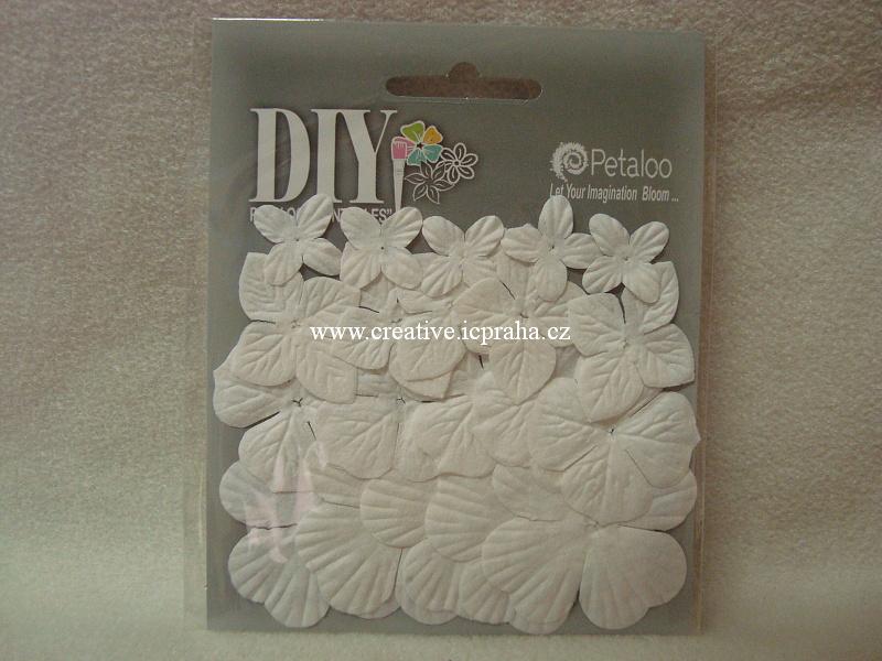 kytičky Hydrangea - bílá  20ks