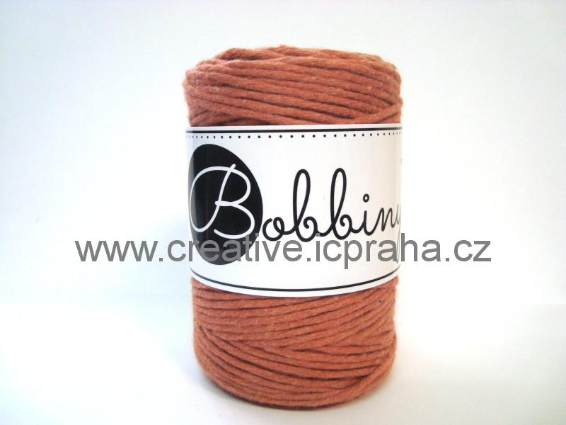 BobbinyMacrame Baby100m/1,5mm - Terakota