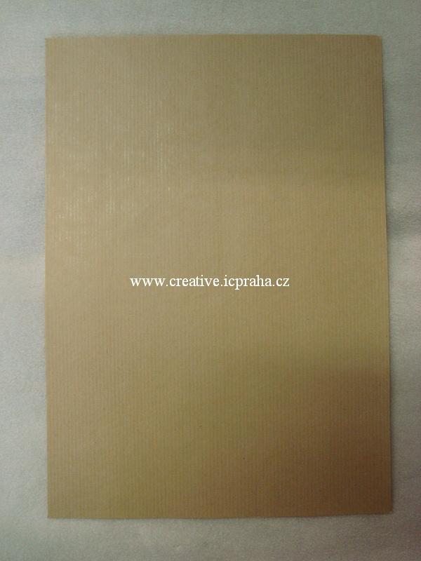 papír A4 120g/m2 - béžovo/hnědá