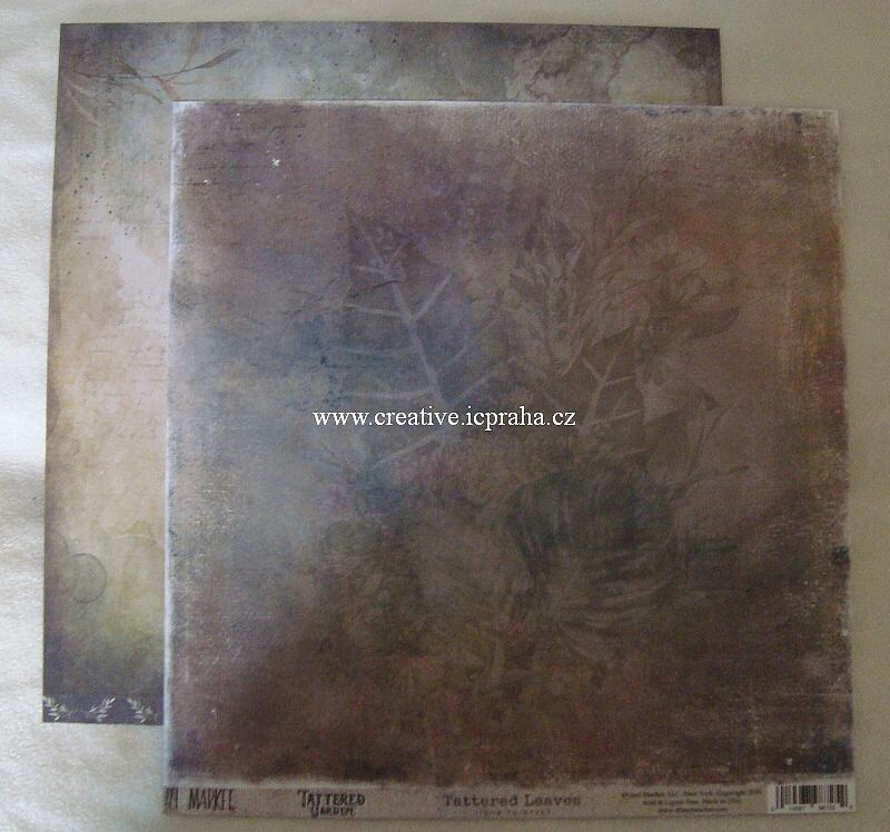 49Market Listy papir 30.5x30.5cm 220g{m2