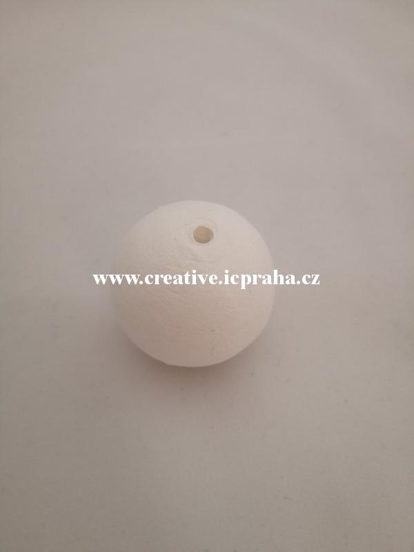 kuličky vatové - bílé 4cm 41000620/ks