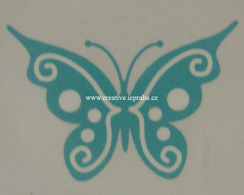 vyřezávací šablona  Ultimate crafts - Motýl 2
