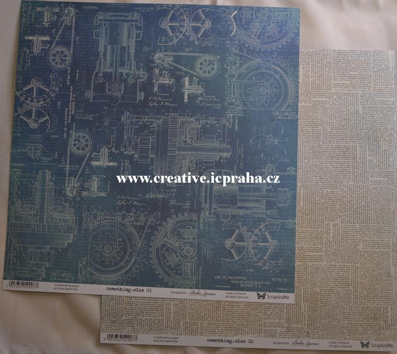 ScrapAndMe S.ThingElse 01/02 30.5x30.5cm 250g/m2