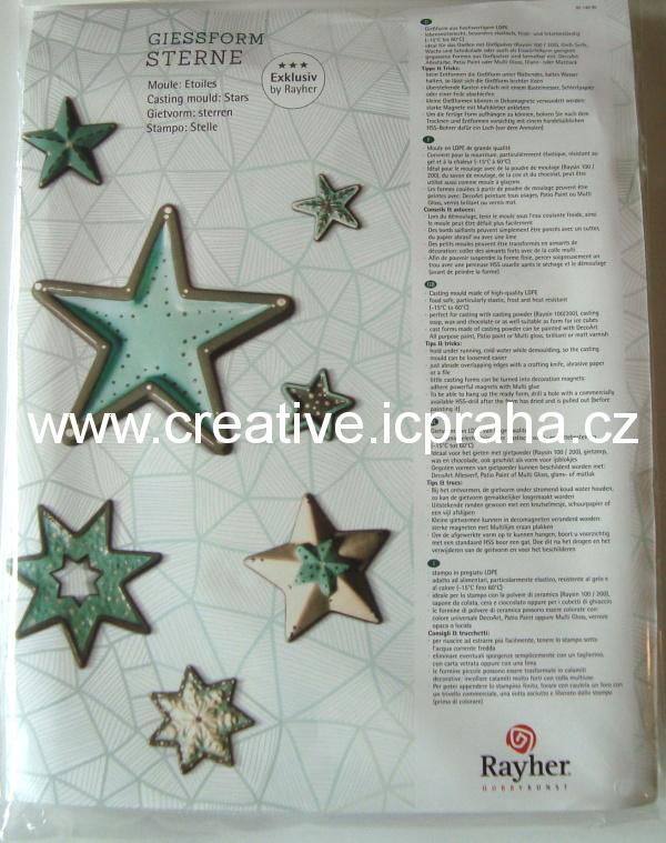 forma RY hvězdy 7 motivů Ry022000