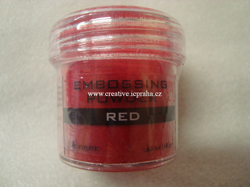 pudr na embos Ranger 34ml - Red 36630