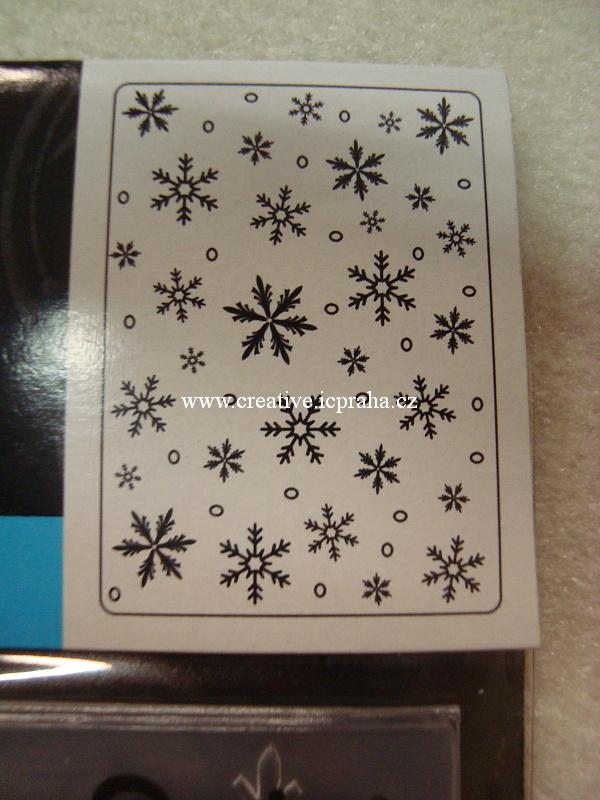 embos.kapsa Vločky 12,7x17,7 EB1218-97