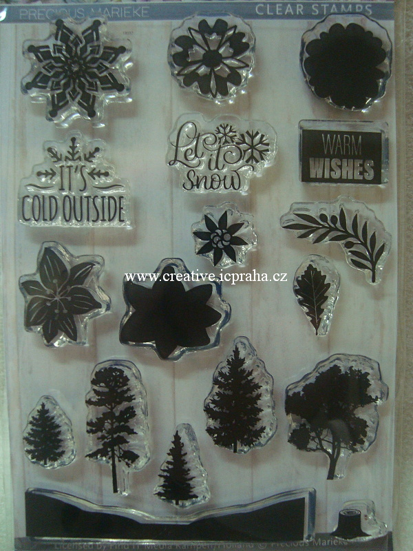 clear stamp Find IT - Let it snow 18ks