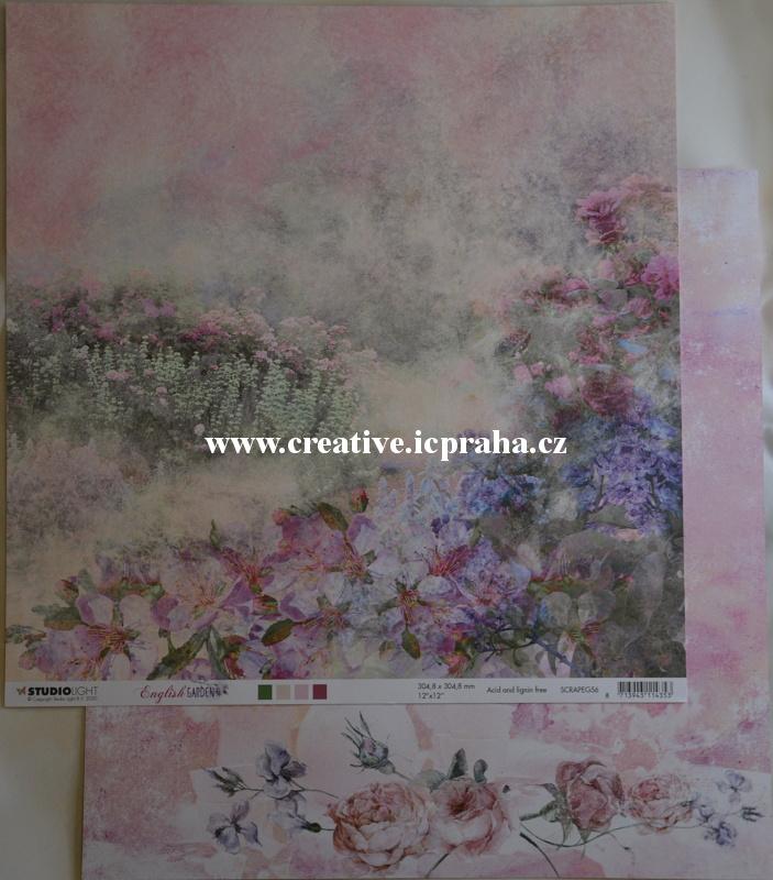 StudioLight - Anglická zahrada 30,5x30,5/190g/m2