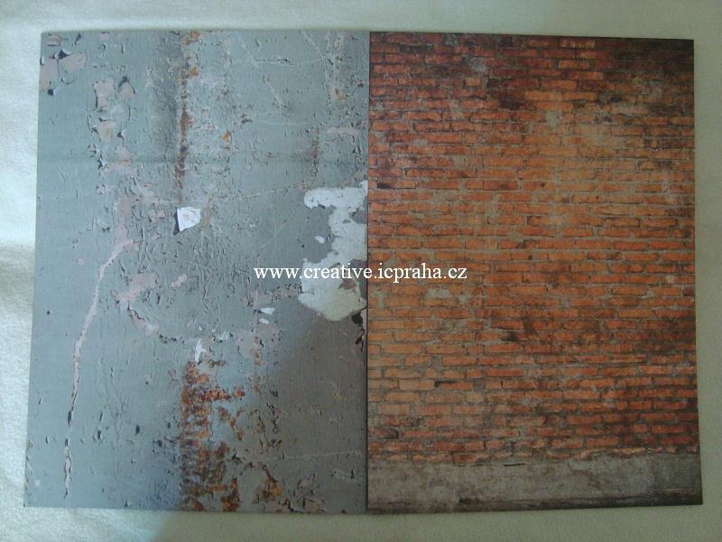 papír A4 190g/A4 Industrial zeď