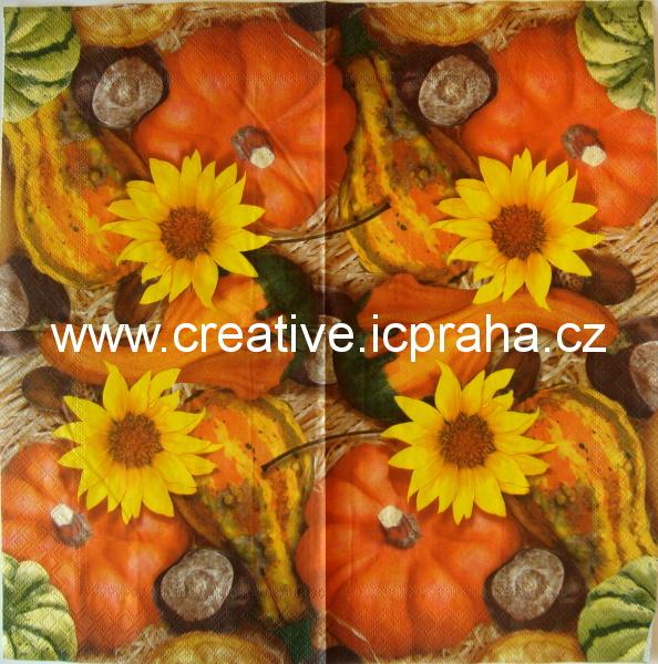 dýně, slunečnice a kaštany AMB5790