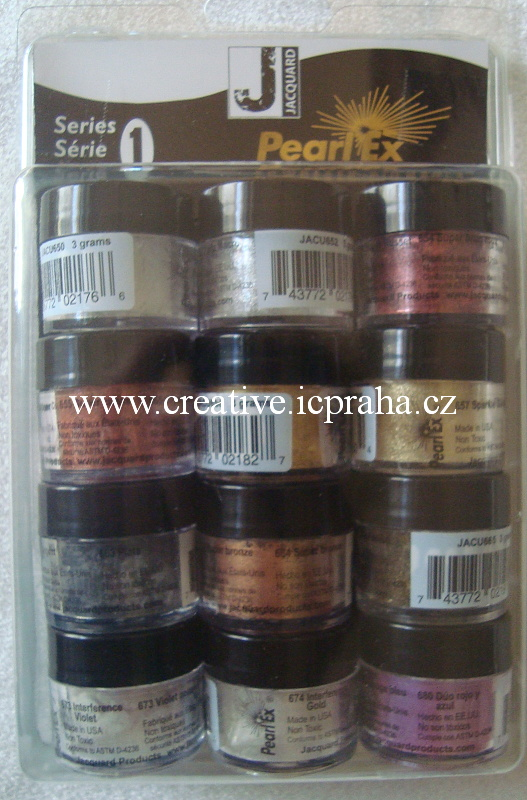 Pearl Ex pigment 12 x 3g - serie 1 bfbe0ae115