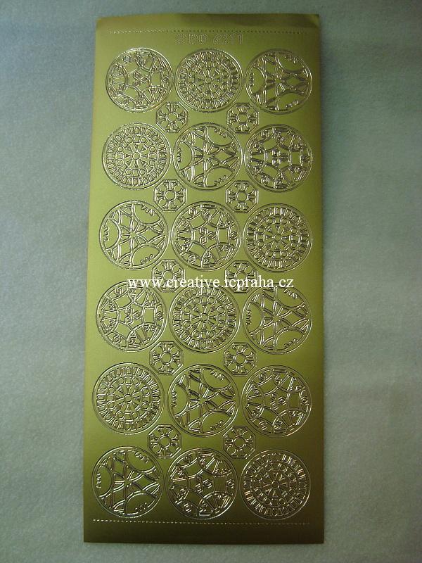 mandaly - zlaté D6211101
