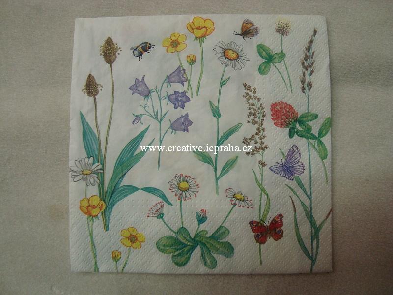 květy luční PAW