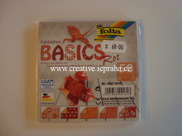 origamipapír  FOLIA 10x10cm
