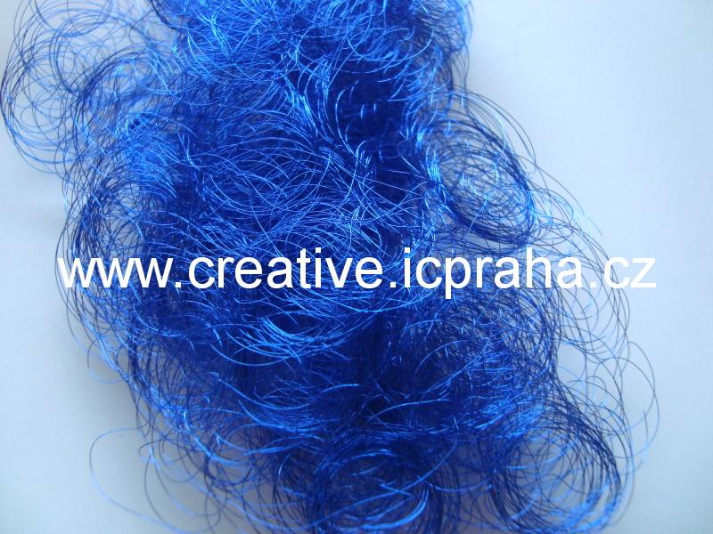 andělské vlasy cca 5g modré