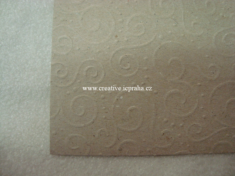 ražený papír 220g/m2 A4 Milano natur