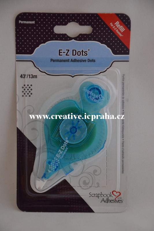 Roller E-Z Dots náplň - 8mmx13m
