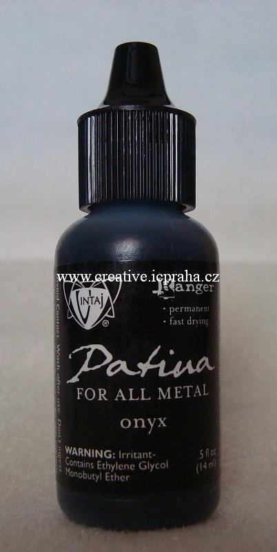 Vintaj Patina ink. - onyx 14ml e4b7484c69