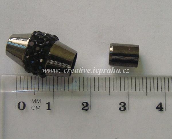 Mag.zap.pro vlep-  se šatony Antracit 18mm/pr.6mm