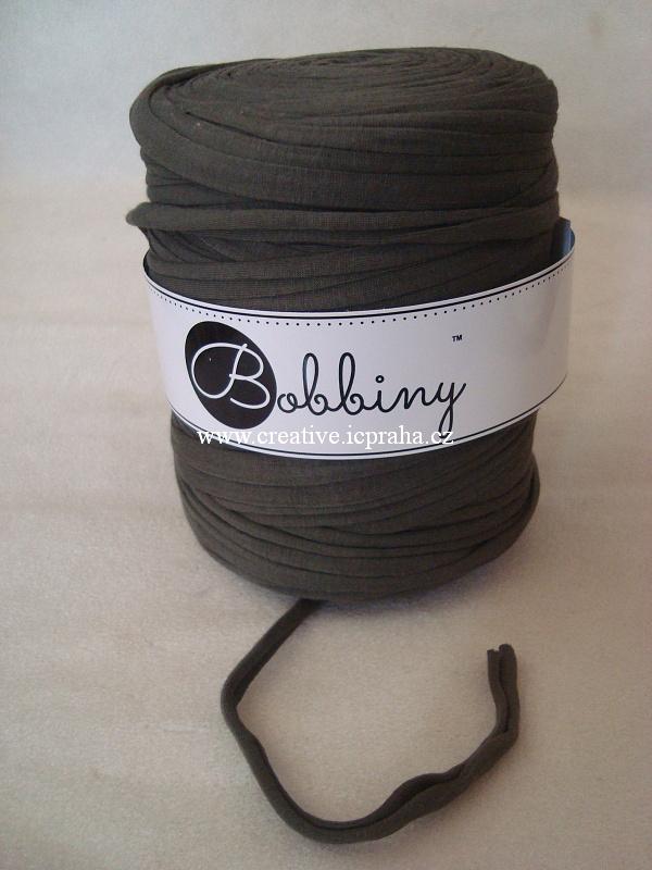 Bobbiny120m - zelená khaki
