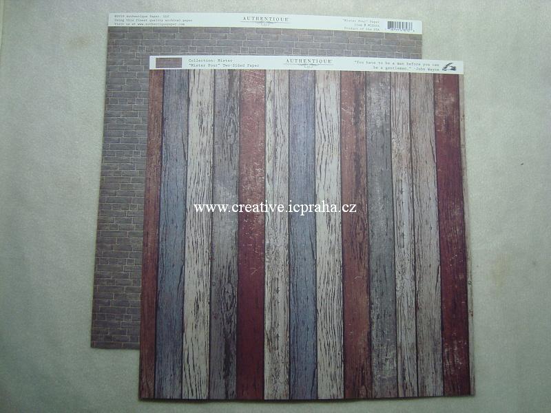 Authentique - Wood  30x30/190g/m2