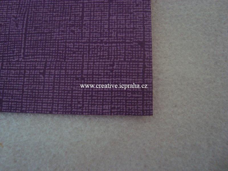 papír 30x30cm struktura 220g/m2- Vintage