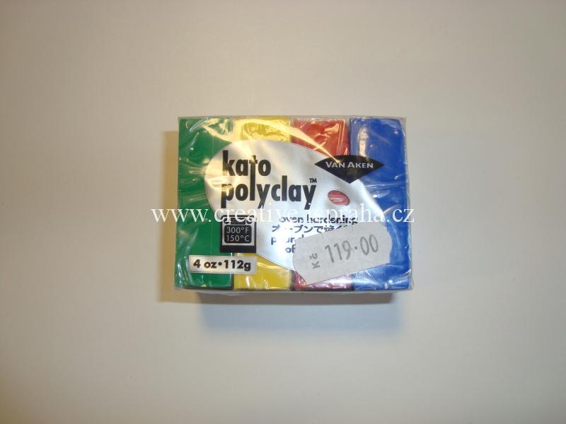 KATO Polyclay MIX / primary 4x28g