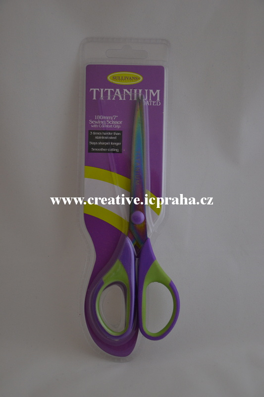 nůžky Titanové - 17,5cm