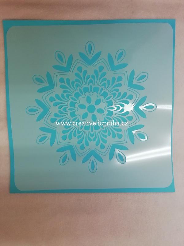 šablona plast ArteMiss 29cm - Mandala 004