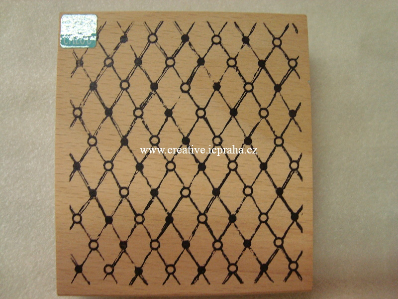 razítka Cling Hmp.Art - Vintage Wire9x9,5cm !SLEVA